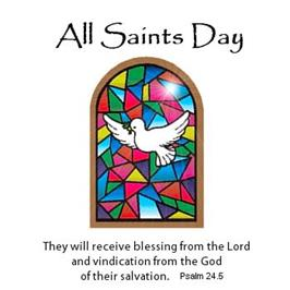Solemnity of All Saints, Nov. 1, 2019