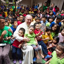 Pope Francis - World Day of the Poor on November 19, 2017