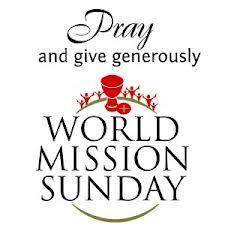 WORLD MISSION SUNDAY / DOMINGO MUNDIAL DE LAS MISIONES